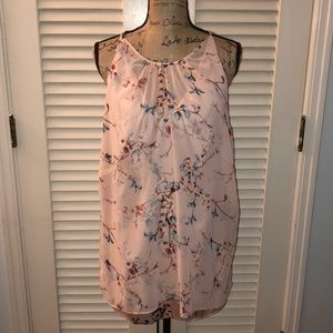 WH|BM sleeveless floral top